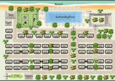 resort map color